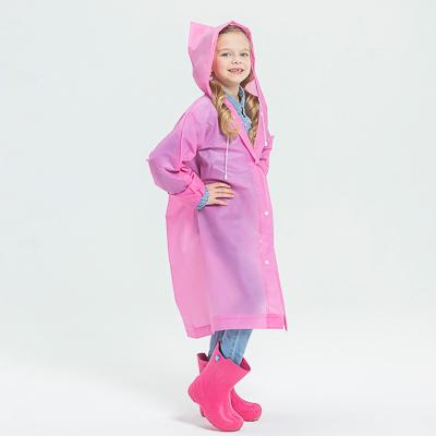 INBLOOM Дождевик детский EVA 100мкр, 83х54см, 5 цветов - фото товара