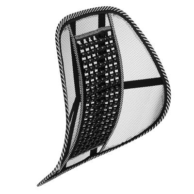 NG Подушка массажная для поддержки спины и поясницы, с деревянными вставками, черная - фото товара