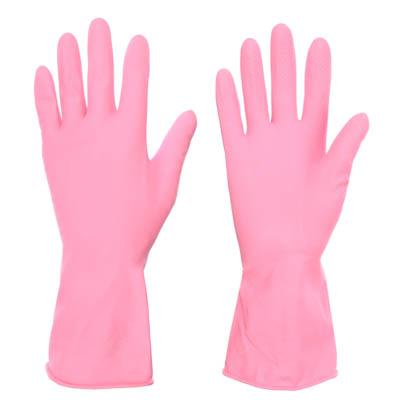VETTA Перчатки резиновые прочные с запахом лаванды L
