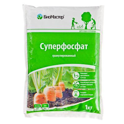 Суперфосфат, 1 кг, БиоМастер - фото товара