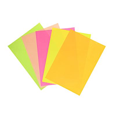 Фото товара ClipStudio Бумага цветная  Неоновая  А4,5 цветов, в пакете