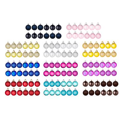 СНОУ БУМ Набор шаров 12шт, 4см, пластик, в пакете, ассортимент цветов - фото товара