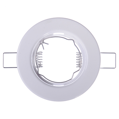 FORZA Светильник встраиваемый №1 MR16 цоколь GU 5.3 пластик d81мм