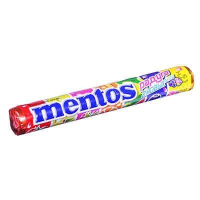 Драже Ментос, фруктовый, 37г, арт.8252351 - фото товара