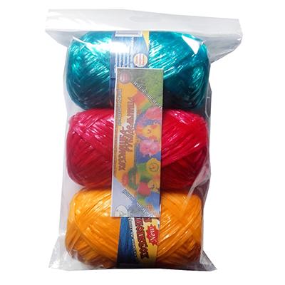 Пряжа для вязания  Для души и душа , 100% полипропилен, 200м/50гр * 3шт, калейдоскоп цветов