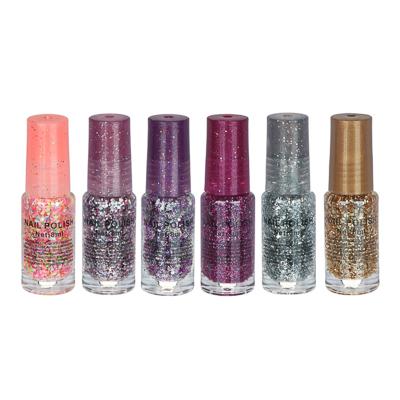 Лак для ногтей, 8мл, 6 цветов - фото товара