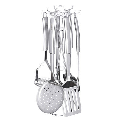 SATOSHI Альфа Набор кухонных принадлежностей 7 пр. нерж. сталь - фото товара