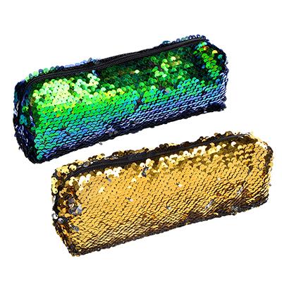 Пенал - хамелеон (меняющий цвет) квадратный, 20х5х5 см, 2 цвета, с антисминаемым вкладышем - фото товара