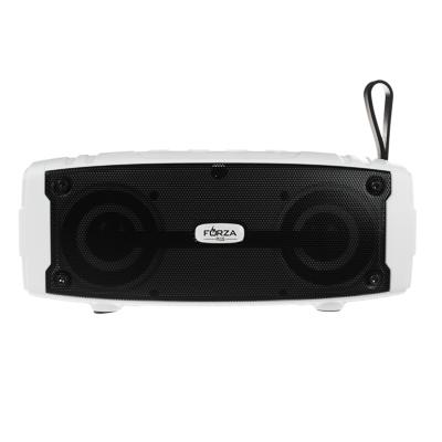 Фото товара FORZA Беспроводная колонка, подсветка, прорезиненная, 18.5см,1200мАч, USB, microSD,AUX