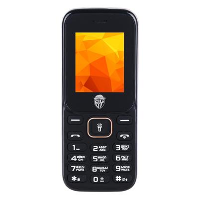 BY Мобильный телефон, цвет черно-оранжевый, 128-ТМ - фото товара