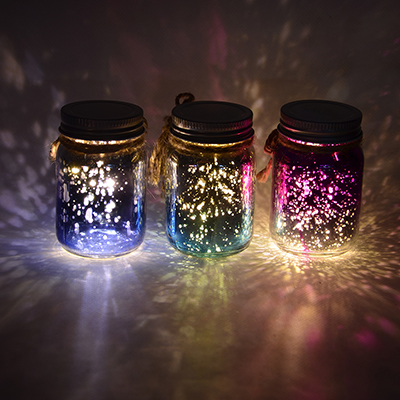 LADECOR Светильник LED декоративный, стекло, 5х8 см, 1xCR203, 6 цветов, арт2, 1 режим свечения - фото товара