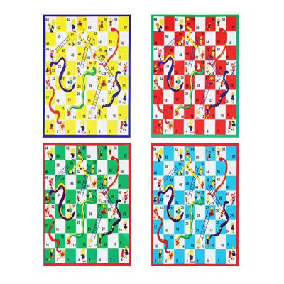 Фото товара Настольная игра  Ходилка-раскраска , поле 19х26см, маркеры, картон, пластик, 2-4 цвета