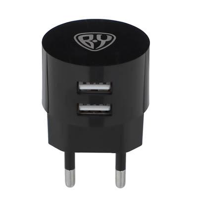 BY Зарядное устройство, 2 USB, 220В, 2A - фото товара