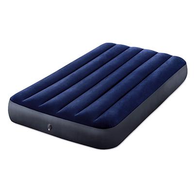 INTEX Кровать надувная Classic downy (Fiber tech) Твин, 99см x 1,91м x 25см, 64757 - фото товара