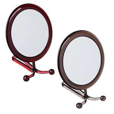 Зеркало настольное, 16х29см, пластик, стекло, 2 цвета, А-15С - фото товара