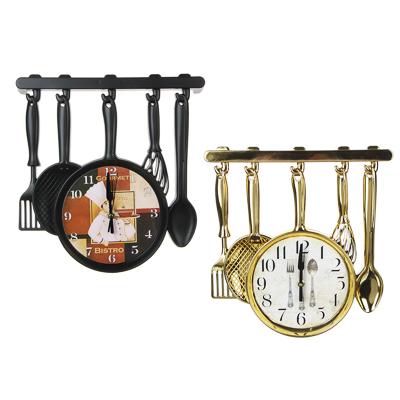 LADECOR CHRONO Часы настенные в форме столовых приборов, 1хАА, 32х31,5 см, 2 дизайна - фото товара