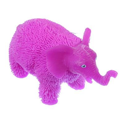 LASTIKS Игрушка резиновая  Пушистик  в виде животного, свет, 8-11х8-9см, резина, 4-8 дизайнов - фото товара