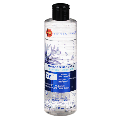 Вода мицеллярная для всех типов кожи 250 мл - фото товара