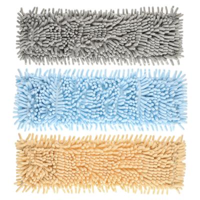 VETTA Насадка для швабры из микрофиб., подкл. полиэст., 10х40см,  Лапша , 4 цвета, вес 95 г.
