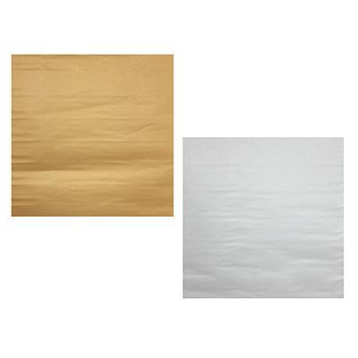 Бумага упаковочная с блеском, набор 2 шт 53х75см, 2 цвета - фото товара