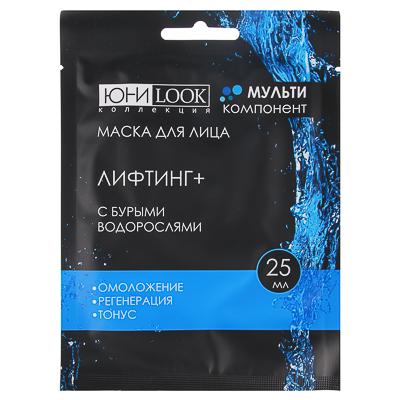 ЮниLook Маска для лица  Лифтинг +  с бурыми водорослями, 25мл - фото товара