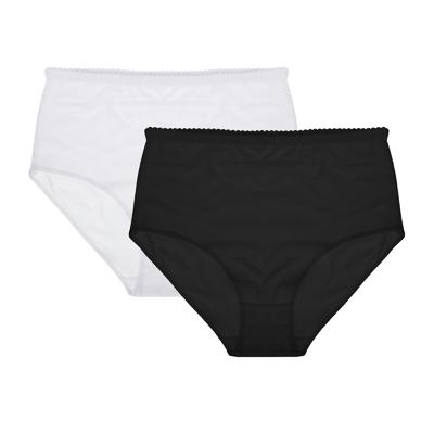 GALANTE Трусы женские макси с высокой талией, 95%хлопок, 5%спандекс, р-ры 48-56, 2 цвета - фото товара