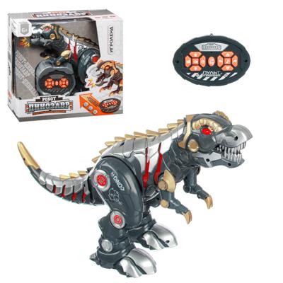 ИГРОЛЕНД Робот-динозавр на пульте упр., ИК, свет, звук, движ., 5ААА, пластик, 33х17х30см - фото товара