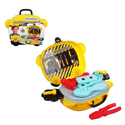 ИГРОЛЕНД Игровой набор в чемодане, 9-17 пр., пластик, 22х15,7х7,2см, 5 дизайнов - фото товара