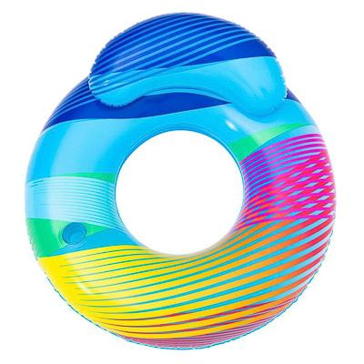BESTWAY Круг для плавания, 118x117см, ПВХ, светодиодный, 43252 - фото товара