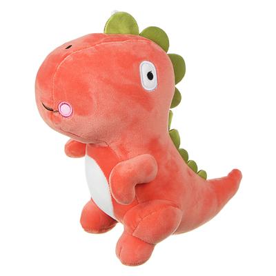 МЕШОК ПОДАРКОВ Игрушка мягкая в виде динозавра, 25-30см, полиэстер, 3 цвета - фото товара