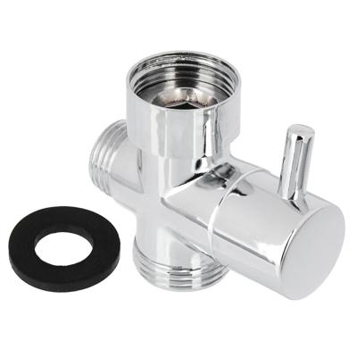 Дивертор для смесителя, поворотный, тип 2, хром, цинк - фото товара