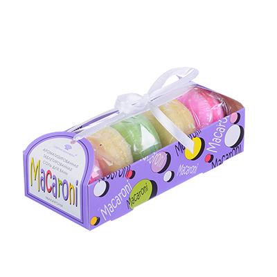 Набор подарочный: ароматизированная таблетированная соль  Macaroni  5 штук по 50г - фото товара