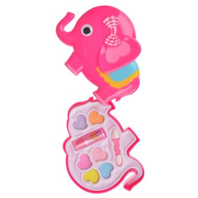 Набор детской косметики в виде слоника: тени 6 цветов 3,5г, помада 1 шт 0,5г - фото товара