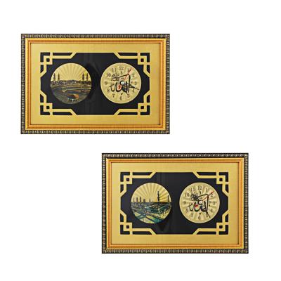Часы настольные, стекло 26,х17,5 см, 1хАА, МT - фото товара