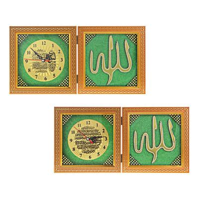Часы настольные, стекло, закрывающиеся, 19х19 см , 1хАА, МT. Арт 3 - фото товара