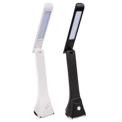 FORZA Лампа настольная с сенсор. выкл., 12 LED, 5Вт, 360 Лм, АБС пластик, диммер, 2 цвета - фото товара