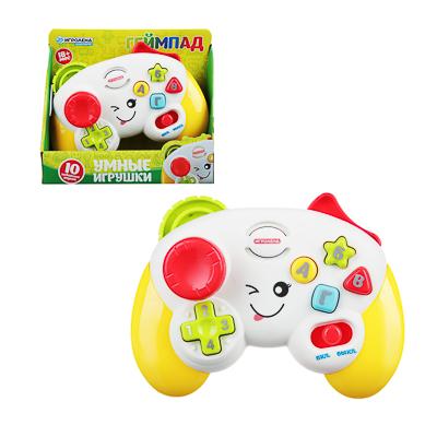 ИГРОЛЕНД Игрушка интерактивная  Геймпад , свет, звук, 2АА, пластик, 15х10,5х6см, 2 цвета - фото товара