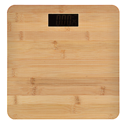 LEBEN Весы напольные электронные, ЖК-дисплей, макс. нагр.до 180кг, 28х28х0,5см,  Паркет - фото товара