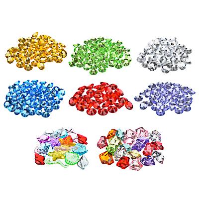 LADECOR Камни декоративные, акрил/пластик, 50-80 гр., ассорти цветов, 8 видов - фото товара