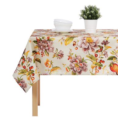 PROVANCE Гармония Скатерть текстильная с водоотталкивающей пропиткой, 140x140см, 100% ПЭ, 4 дизайна - фото товара