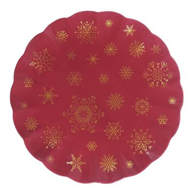 MILLIMI Волшебство Блюдо круглое 25х25х2см, костяной фарфор - фото товара