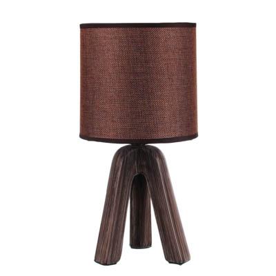 FORZA Лампа настольная  Венеция , E14, 40 Вт, 220-240В, керамика, текстиль, 3 цвета - фото товара