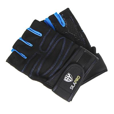 SILAPRO BY Перчатки спортивные, универсальный размер, полиэстер - фото товара