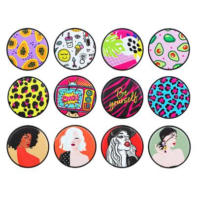 ЮниLook Зеркало карманное, стекло, пластик, d6,8см, 12 дизайнов - фото товара