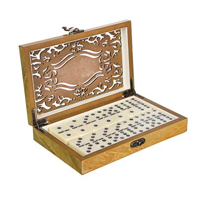 LDGames Домино в подарочной коробке, дерево, 20х13х4см - фото товара