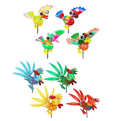 INBLOOM Фигурка на стержне 60см  Веселые птицы , PS, металл, 8 дизайнов - фото товара