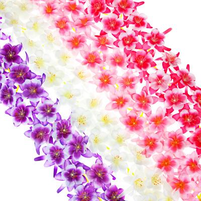 LADECOR Растение искусственное Лиана цветочная 2,1м, полиэстер, 4 цвета - фото товара