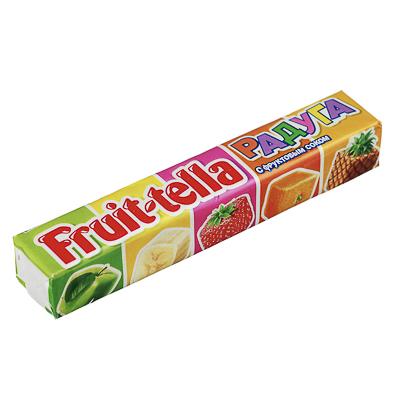 Фото товара Жевательные конфеты Фруттелла Радуга, ананас, 41г
