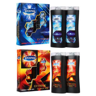 Набор подарочный мужской Extreme (шампунь 250мл, гель д/д 250мл) Энергия вулкана / Энергия молнии - фото товара