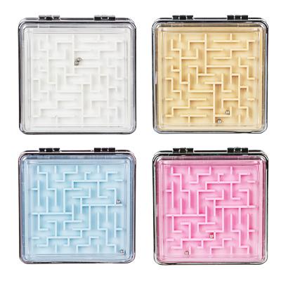 ЮниLook Зеркало карманное, пластик, стекло, 6,3х6,3см, 4 цвета - фото товара